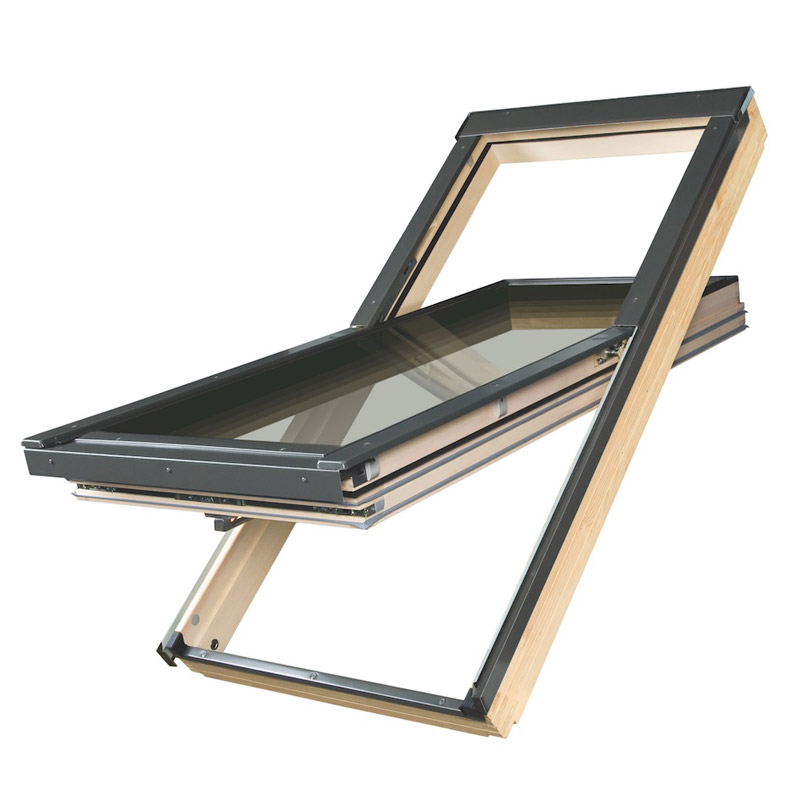 Fakro Мансардные энергосберегающие окна FTT U6 Thermo