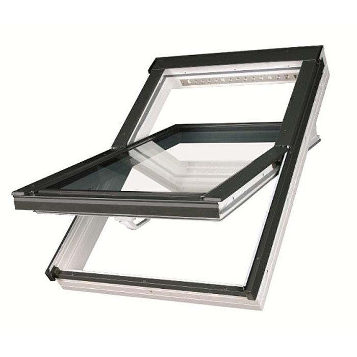 Fakro Мансардные окна Среднеповоротные пластиковые PTP-V U3